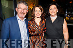 Anthony O'Gara (Rose of Tralee International Festival) with Valerie Kerins and Una O'Gara at the Rose Reunion in the Rose Hotel on Saturday night.