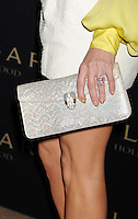 WWW.BLUESTAR-IMAGES.COM  Actress Kate Hudson (handbag, ring detail) at the BVLGARI 'Decades Of Glamour' Oscar Party Hosted By Naomi Watts at Soho House on February 25, 2014 in West Hollywood, California.<br /> Photo: BlueStar Images/OIC jbm1005  +44 (0)208 445 8588