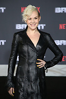 WESTWOOD, CA - DECEMBER 13: Kimmy Gatewood, at Premiere Of Netflix's 'Bright' at The Regency Village Theatre, In Hollywood, California on December 13, 2017. Credit: Faye Sadou/MediaPunch /NortePhoto.com NORTEPHOTOMEXICO