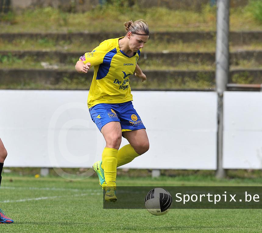 Club Brugge Dames - STVV Sint Truidense VV : Dorien Guilliams .foto DAVID CATRY / Nikonpro.be