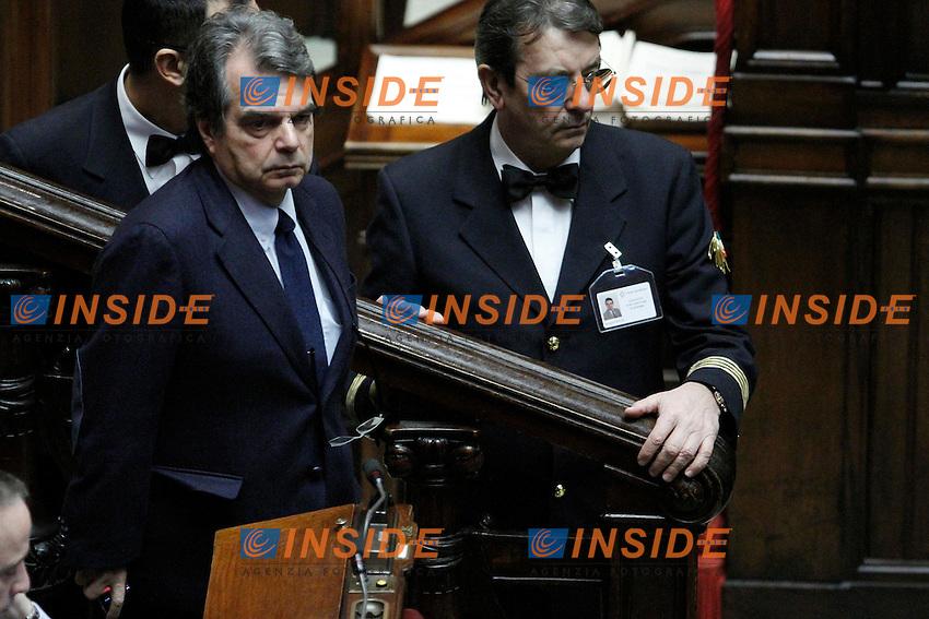 L onorevole del PdL Renato Brunetta..Voto di Fiducia alla Camera dei Deputati sulla nuova Manovra Economica..Roma 16 Dicembre  2011..Photo Serena Cremaschi Insidefoto..............................