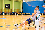 Player Xavi Rabaseda after the first training of Spanish National Team of Basketball 2019 . July 26, 2019. (ALTERPHOTOS/Francis González)