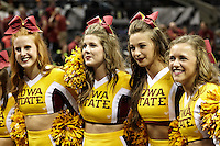 SAN ANTONIO, TX - MARCH 21, 2014: The Iowa State University Cyclones face the North Carolina Central University Eagles in the 2nd Round of the 2014 NCAA Basketball Tournament at the AT&T Center. (Photo by Jeff Huehn)