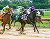 Persie winning at Delaware Park on 7/15/17