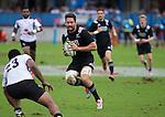 Mitchell Crosswell. Maori All Blacks vs. Fiji. Suva. July 11, 2015. Photo: Marc Weakley