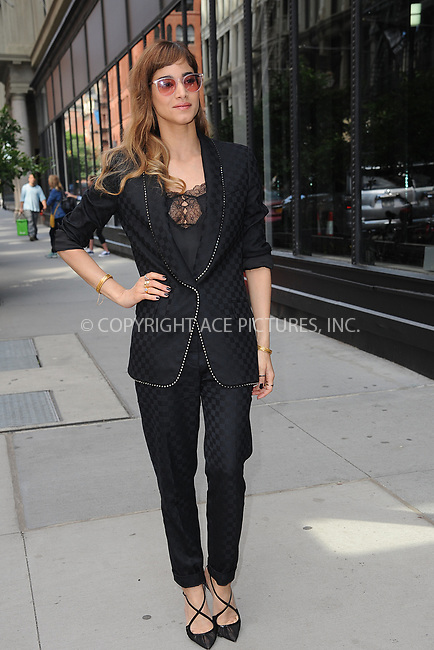 www.acepixs.com<br /> June 6, 2017 New York City<br /> <br /> Sofia Boutella at AOL Build Series on June 6, 2017 in New York City.<br /> <br /> Credit: Kristin Callahan/ACE Pictures<br /> <br /> <br /> Tel: 646 769 0430<br /> e-mail: info@acepixs.com