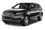 2015 Audi Q7 - 5 Door Suv 2WD Angular Front stock photos of front three quarter view