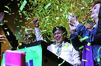 BOGOTÁ - COLOMBIA, 27-10-2019:Claudia López  alcalde de BogotáJornada de elecciones para alcaldes y gobernadores en Colombia./. Photo: VizzorImage / Felipe Caicedo / Satff