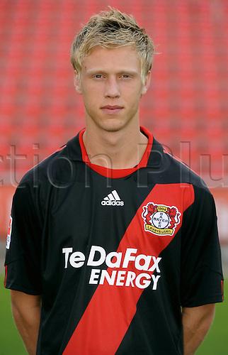 20 07 2010  Bundesliga Photo Call- Season 2010/2011 Bayer Leverkusen Nicolai Jorgensen