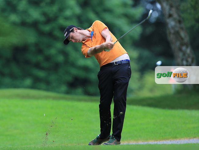 Coin Woodroofe (Blainroe) on the 3rd tee during Round 4 of the 2016 Connacht Strokeplay Championship at Athlone Golf Club on Sunday 12th June 2016.<br /> Picture:  Golffile | Thos Caffrey