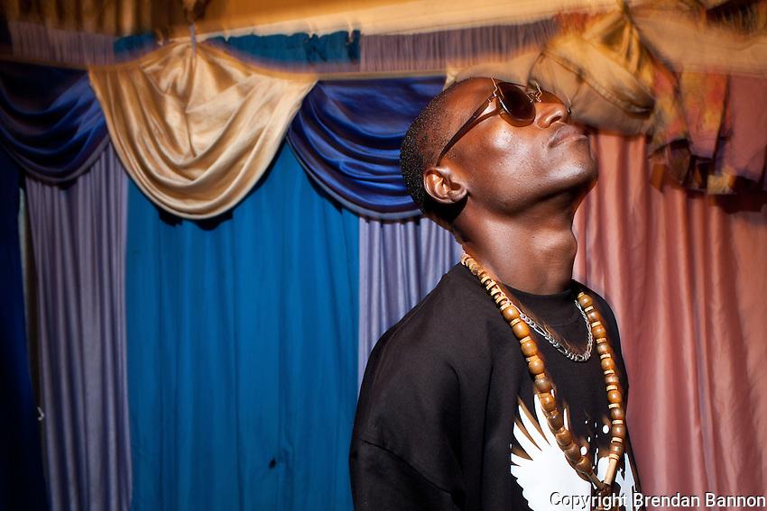 23-year-old hip-hop artist Octopizzo in Kibera.