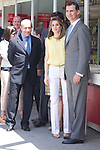 25.05.2012. Prince Felipe of Spain and Princess Letizia attend the inauguration of the Book Fair 2012 at the Retiro in Madrid. In the image Minister of Education Culture and Sports Jose Ignacio Wert, Letizia Ortiz and Felipe de Borbon (Alterphotos/Marta Gonzalez)