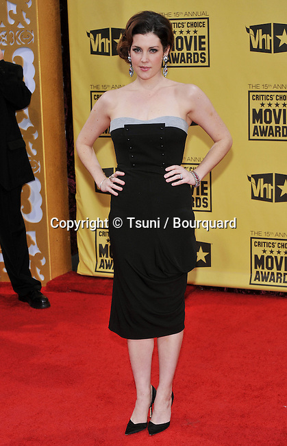 Melanie Lynskey _138  -<br /> 15th Annual Critics' Choice Movie Awards  at the Hollywood Palladium in Los Angeles.