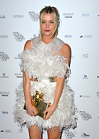 laura Whitmore attends the WGSN Global Fashion Awards at the Victoria & Albert Museum on October 30, 2013 in London, England