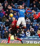 16.03.2019 Rangers v Kilmarnock: James Tavernier and Greg Taylor