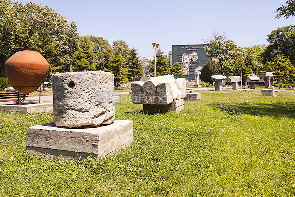Exhibits in the Archaeological Park, Parcul Primariel, Constanta, Romania   June 2015<br /> CAP/MEL<br /> &copy;MEL/Capital Pictures /MediaPunch ***NORTH AND SOUTH AMERICA ONLY***