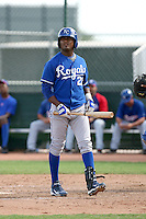 Geulin Beltre - Kansas City Royals - 2010 Instructional League.Photo by:  Bill Mitchell/Four Seam Images..