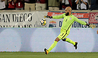 Harrison, N.J. - Friday September 01, 2017:   Tim Howard during a 2017 FIFA World Cup Qualifying (WCQ) round match between the men's national teams of the United States (USA) and Costa Rica (CRC) at Red Bull Arena.