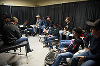 Bullfighter Meeting during the Bullfighters Only Bulltoberfest event in Austin, TX - 10.28.2017. Photo by Christopher Thompson