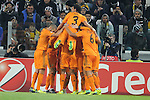 IM Torino 05-11-2013 Juventus Stadium<br /> Champions League 2013/2014<br /> Juventus Vs Real Madrid<br /> nella foto Esultanza Bale<br /> foto Marco Iorio