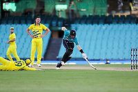 13th March 2020, Sydney Cricket Ground, Sydney, Australia;  Martin Guptill of the Blackcaps makes his ground after a quick single. International One Day Cricket. Australia versus New Zealand Blackcaps, Chappell–Hadlee Trophy, Game 1.