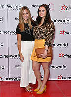 Zoe Hardman, Dionne Bromfield<br /> Launch party of Cineworld Group's new Korean-developed technology, using projections on the side of theatre walls to create a 270 degree viewing experience, at Cineworld Greenwich, The O2, London, England, UK.<br /> CAP/JOR<br /> &copy;JOR/Capital Pictures