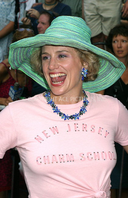 """Opening night for Broadway's newest and hottest show, """"Hairspray"""" at Neil Simon Theatre. New York, August 15, 2002. Pictured is Cady Huffman. Please byline: Alecsey Boldeskul/NY Photo Press.   ..*PAY-PER-USE*      ....NY Photo Press:  ..phone (646) 267-6913;   ..e-mail: info@nyphotopress.com"""