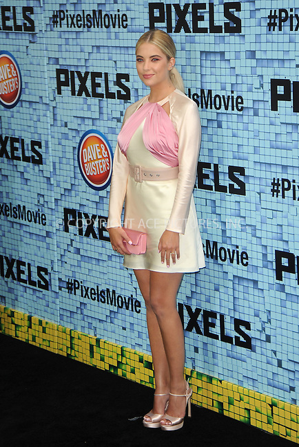 WWW.ACEPIXS.COM<br /> July 18, 2015 New York City<br /> <br /> Ashley Benson attending the 'Pixels' Premiere at Regal E-Walk on July 18, 2015 in New York City.<br /> <br /> Please byline: Kristin Callahan/ACE <br /> <br /> <br /> Tel: (646) 769 0430<br /> e-mail: info@acepixs.com<br /> web: http://www.acepixs.com