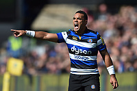 Kahn Fotuali'i of Bath Rugby. Aviva Premiership match, between Bath Rugby and Saracens on September 9, 2017 at the Recreation Ground in Bath, England. Photo by: Patrick Khachfe / Onside Images