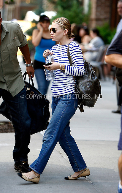 WWW.ACEPIXS.COM . . . . .  ....August 5 2011, New York City....Actress Ashley Olsen leaves a downtown hotel on August 5 2011 in New York City....Please byline: CURTIS MEANS - ACE PICTURES.... *** ***..Ace Pictures, Inc:  ..Philip Vaughan (212) 243-8787 or (646) 679 0430..e-mail: info@acepixs.com..web: http://www.acepixs.com