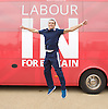 Labour IN campaign bus visits the Queen Elizabeth Olympic Park Stratford, London with Alan Johnson MP chair of the Labour in for Britain campaign to set out what impact leaving the European Union would have on the UK tourism sector.<br />  <br /> 29th May 2016 <br /> <br /> Lee Shinkin - Judo Bronze medalist in Commonwealth Games<br /> <br /> Photograph by Elliott Franks <br /> Image licensed to Elliott Franks Photography Services