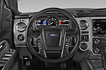 Car pictures of steering wheel view of a 2017 Ford Expedition XLT 5 Door SUV Steering Wheel