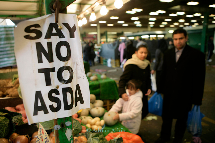 Asda's have recently pulled out of  St Modwyn's plans to redevelop Queen's Market, Upton Park, London