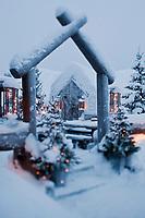 Europe/Finlande/Laponie/Levi:Luvattumaa Ice Gallery Hotel & Bar