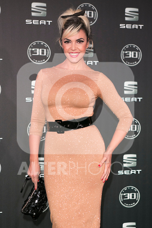 Silvia Superstar attends the 30th Anniversary Party Of Seat IBIZA Car at COAM in Madrid, Spain. November 6, 2014. (ALTERPHOTOS/Carlos Dafonte)