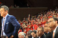 Virginia fans during the game Jan. 7, 2015, in Charlottesville, Va. Virginia defeated NC State  61-51.