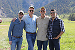 Beau and Patrick. Grand Teton Trailride. 6.17