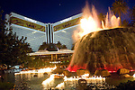 Night exteriors of the Mirage