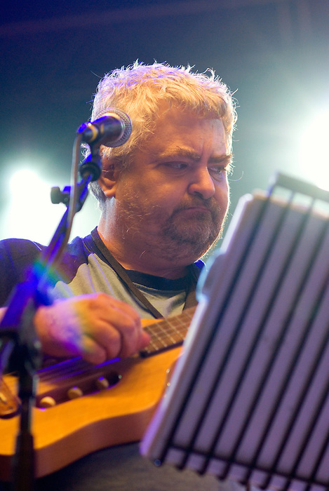 Daniel Johnston plays All Tomorrow's Parties curated by Matt Groening ~ Minehead May 9 2010.