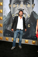 """LOS ANGELES - MAY 8:  Zach McGowan at the """"King Arthur Legend of the Sword"""" World Premiere on the TCL Chinese Theater IMAX on May 8, 2017 in Los Angeles, CA"""