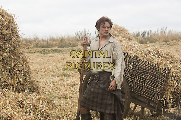 Sam Heugan<br /> in Outlander (2014) <br /> (Season 1)<br /> *Filmstill - Editorial Use Only*<br /> CAP/FB<br /> Image supplied by Capital Pictures