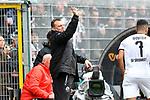 16.03.2019, BWT-Stadion am Hardtwald, Sandhausen, GER, 2. FBL, SV Sandhausen vs FC St. Pauli, <br /> <br /> DFL REGULATIONS PROHIBIT ANY USE OF PHOTOGRAPHS AS IMAGE SEQUENCES AND/OR QUASI-VIDEO.<br /> <br /> im Bild: Uwe Koschinat (Trainer, SV Sandhausen)<br /> <br /> Foto &copy; nordphoto / Fabisch