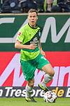 10.02.2019, Weser Stadion, Bremen, GER, 1.FBL, Werder Bremen vs FC Augsburg, <br /> <br /> DFL REGULATIONS PROHIBIT ANY USE OF PHOTOGRAPHS AS IMAGE SEQUENCES AND/OR QUASI-VIDEO.<br /> <br />  im Bild<br /> <br /> Niklas Moisander (Werder Bremen #18)<br /> Einzelaktion, Ganzk&ouml;rper / Ganzkoerper<br /> <br /> Foto &copy; nordphoto / Kokenge