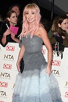 Helen George<br /> at the National TV Awards 2017 held at the O2 Arena, Greenwich, London.<br /> <br /> <br /> &copy;Ash Knotek  D3221  25/01/2017