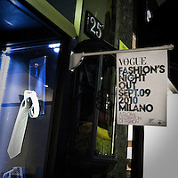 2010 edition of the Vogue Fashion Out in Milan