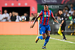 Crystal Palace defender Patrick van Aanholt  in action during the Premier League Asia Trophy match between Liverpool FC and Crystal Palace FC at Hong Kong Stadium on 19 July 2017, in Hong Kong, China. Photo by Weixiang Lim / Power Sport Images