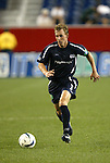 04 September 2004: Rusty Pierce during the second half. The San Jose Earthquakes defeated the New England Revolution 1-0 at Gillette Stadium in Foxboro, MA during a regular season Major League Soccer game..