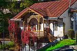 Zabytkowy dom przy placu Dietla w Szczawnicy.