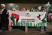 08.06.2018 - Marcha pela Palestina livre na av Paulista em SP