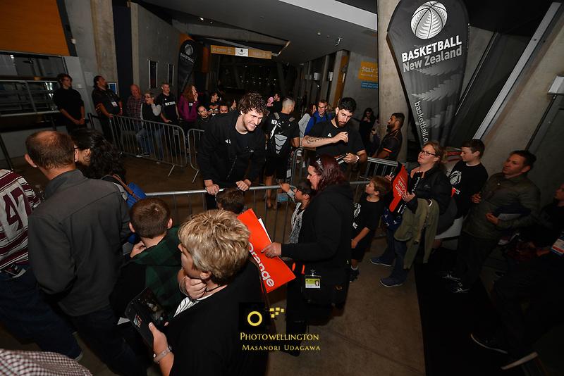 New Zealand Tall Blacks&rsquo; Rob Loe, FIBA World Cup Basketball Qualifier - NZ Tall Blacks v Jordan at Horncastle Arena, Christchurch, New Zealand on Thursday 29 November  2018. <br /> Photo by Masanori Udagawa. <br /> www.photowellington.photoshelter.com